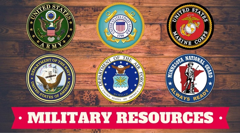 military resources banner