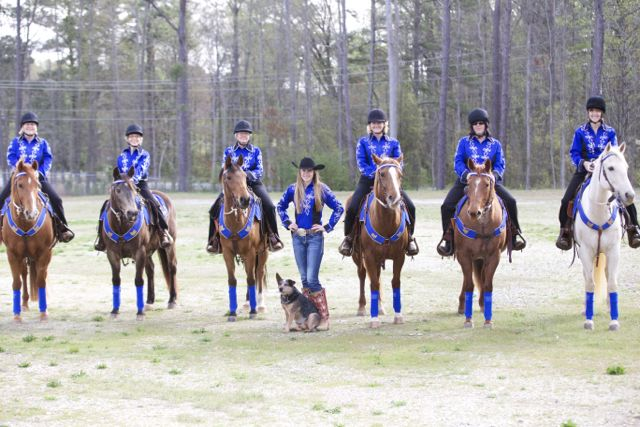 Mounted-Drill-Team-Rusty-Spurs